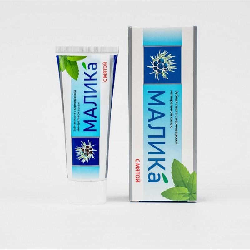 Зубная паста МАЛИКА с Карловарской минеральной солью